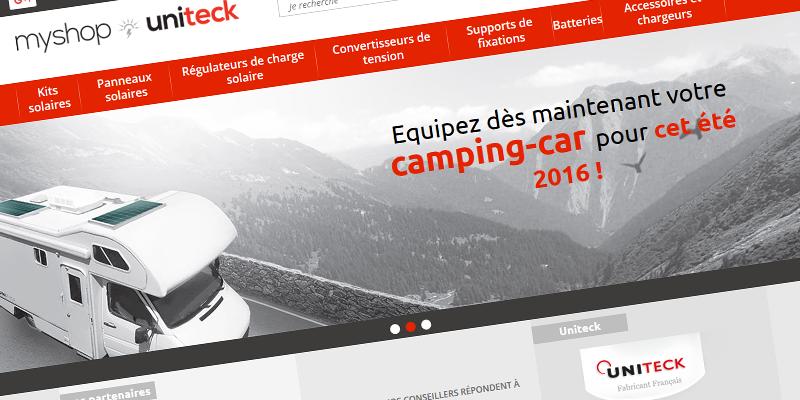 Distributeur officiel, MyShop-Uniteck vous propose l'ensemble du catalogue Uniteck