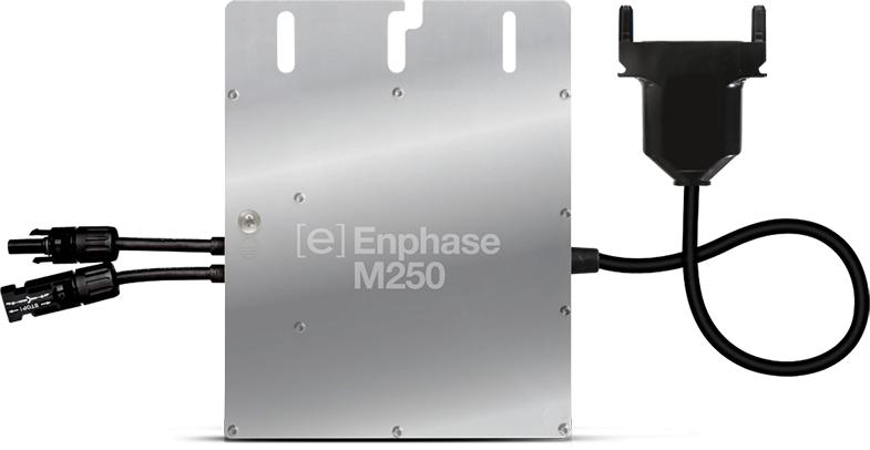 Le micro-onduleur Enphase M250 représente la solution la plus économe pour relier votre kit photovoltaïque au réseau national !
